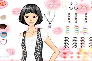 《妖艳模特换装》游戏画面2