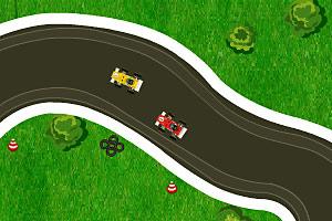 《迷你方程式赛车挑战》游戏画面1