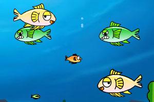 《大鱼狂吃小鱼》游戏画面1
