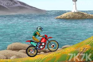 《摩托车特技赛》游戏画面2