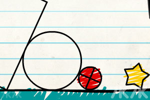 《画线小球》游戏画面3