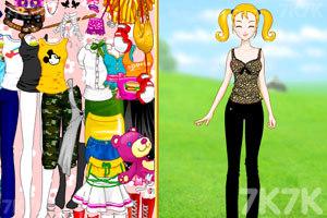 《大头妹和姐姐扮公主》游戏画面1