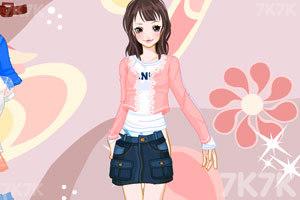 《美丽蕾丝淑女装》游戏画面2