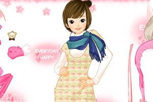 《时尚少女冬装》游戏画面3