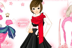 《时尚少女冬装》游戏画面2