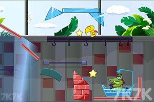 《小鳄鱼吃鸭子》截图3
