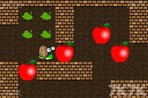 《小蜗牛推苹果2》游戏画面1