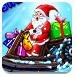 圣诞老人滑雪乐