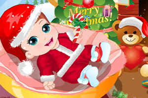 《可爱圣诞宝贝》游戏画面1
