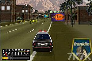 《警车追捕逃犯》游戏画面4