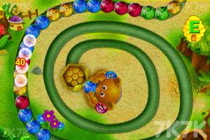 《小熊祖玛》游戏画面1