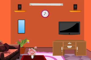 《逃离橙色客厅》游戏画面1