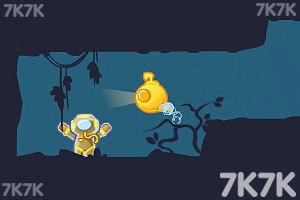 《营救潜水员无敌版》游戏画面1