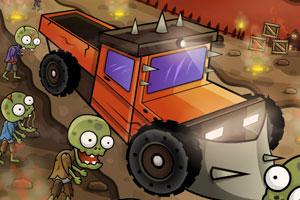 《僵尸屠戮战车无敌版》游戏画面1