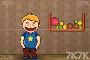 《吃货吃糖豆》游戏画面1