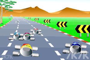 《公路汽车比赛》游戏画面2