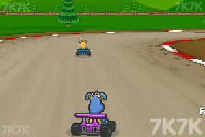《小狗赛车》游戏画面3