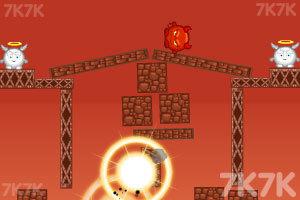 《轰炸小恶魔》游戏画面2
