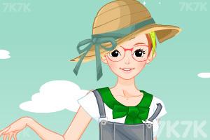 《小女生开学换装》游戏画面8