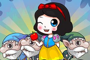 《白雪公主救矮人》游戏画面1
