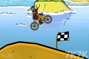 《疯狂脚踏车赛》游戏画面2