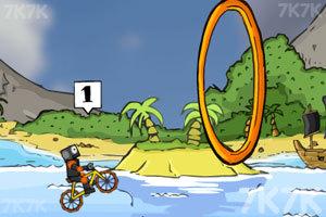《疯狂脚踏车赛》游戏画面4