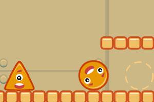 《让小球落地》游戏画面1