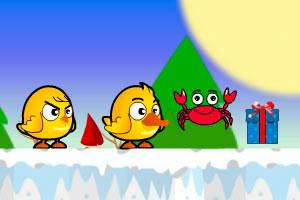 《鸡鸭兄弟圣诞版无敌版》游戏画面1