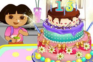 朵拉生日蛋糕