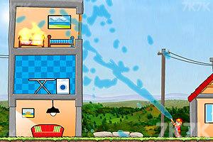 《英勇消防员》游戏画面1