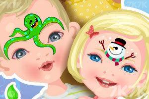 《画脸艺术家》游戏画面1