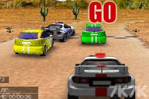 《3D赛车》游戏画面1