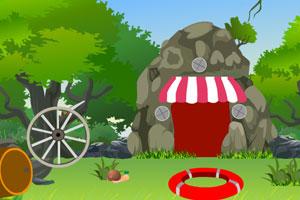 《洞穴附近逃生》游戏画面1
