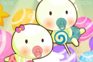 《宝宝爱吃糖》游戏画面1