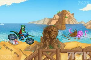 《山路摩托挑战赛》游戏画面2