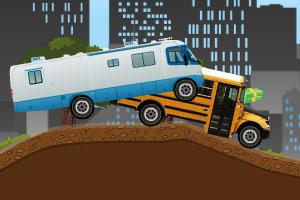 《超长巴士赛车》游戏画面1