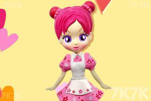 《阿sue设计漂亮娃娃》游戏画面5