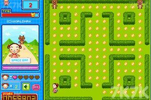 《美女吃豆豆》游戏画面4