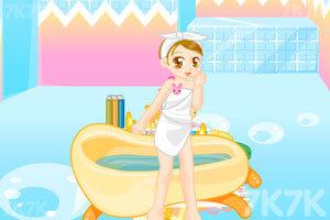 《美眉浴室装饰》游戏画面4
