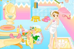 《美眉浴室装饰》游戏画面3