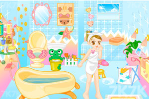 《美眉浴室装饰》游戏画面1