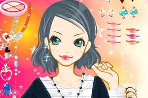 《活力美眉化妆》游戏画面4