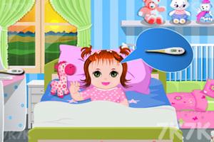 《照顾生病的宝贝》游戏画面3