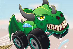《恐龙战车飙车赛》游戏画面1