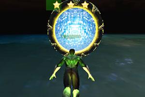 《绿灯侠飞行训练》游戏画面1