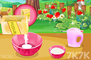 《香甜草莓蛋糕》游戏画面1