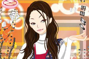 《妩媚MM化妆》游戏画面3