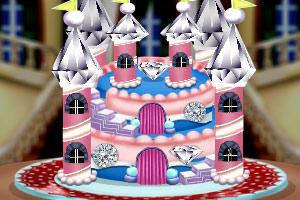《钻石城堡蛋糕》游戏画面1