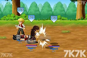 《英雄大作战V0.7终极无敌版》游戏画面4