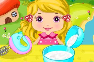 《宝贝的杯子蛋糕》游戏画面1